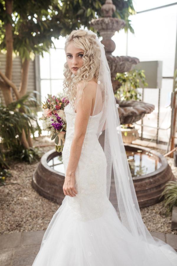 Bridal Veils - Andrea - Rachel Elizabeth Desinger Bridal Gowns
