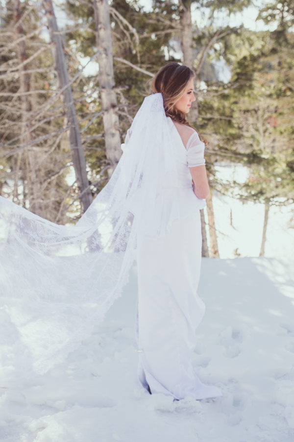 Scalloped Veil - Hailey - Rachel Elizabeth Desinger Bridal Gowns