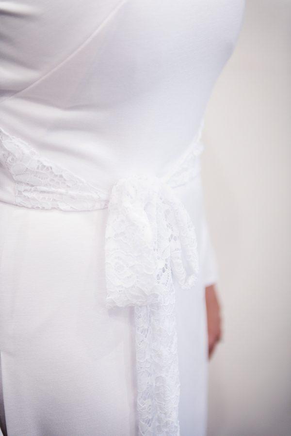 White Temple Dress - Josephine - Rachel Elizabeth Bridal and ...