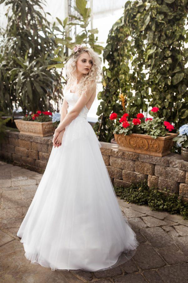 Fairytale Wedding Gown - Beth - Rachel Elizabeth Desinger Bridal Gowns