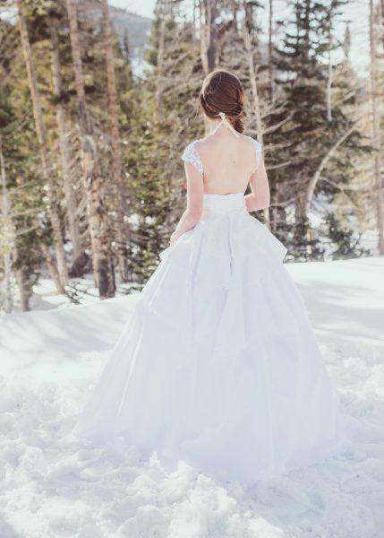 Teired Ballgown - Gabriella - Rachel Elizabeth Desinger Bridal Gowns