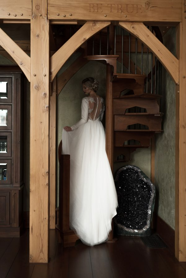 Perfect Tulle Gown -Ava - Rachel Elizabeth Designer Bridal Gowns