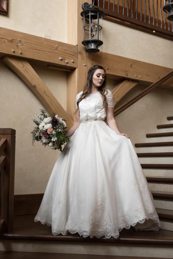 Enchanting Ballgown- Isabelle - Rachel Elizabeth Desinger Bridal Gowns