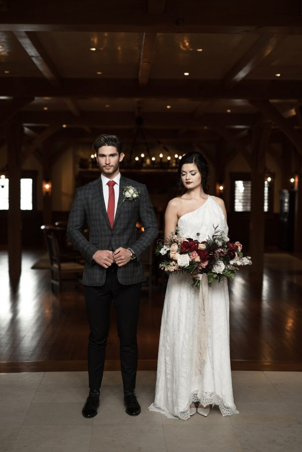 Full Lace Wedding Gown - Genevieve - Rachel Elizabeth Desinger ...
