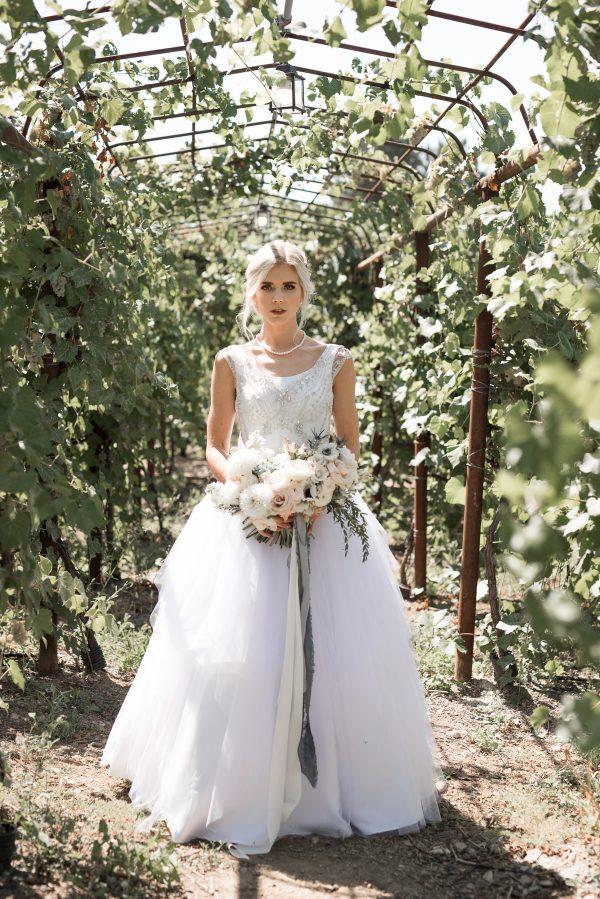 Dreamy Tulle Aline - Georgia - Rachel Elizabeth Desinger Bridal Gowns
