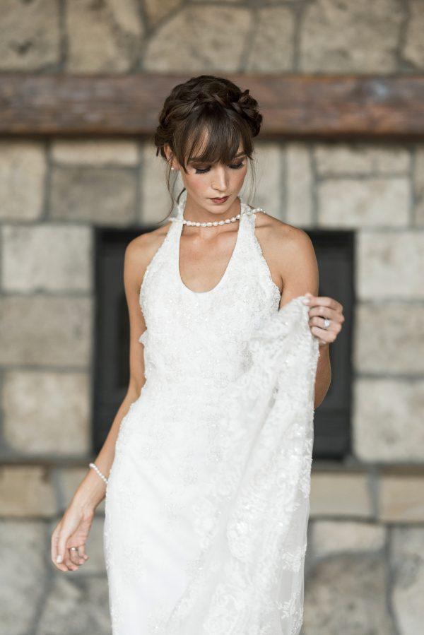 Full Lace Wedding Dress - Simone - Rachel Elizabeth Desinger Bridal ...