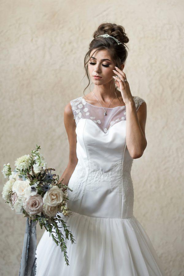 Elegant Wedding Dress - Ruth - Rachel Elizabeth Desinger Bridal Gowns