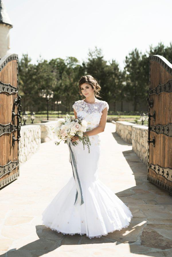 Whimsical Mermaid Wedding Gown - Naomi - Rachel Elizabeth Desinger ...