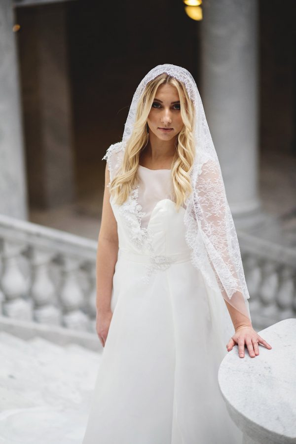 Designer Wedding Gown - Rhea - Rachel Elizabeth Desinger Bridal Gowns