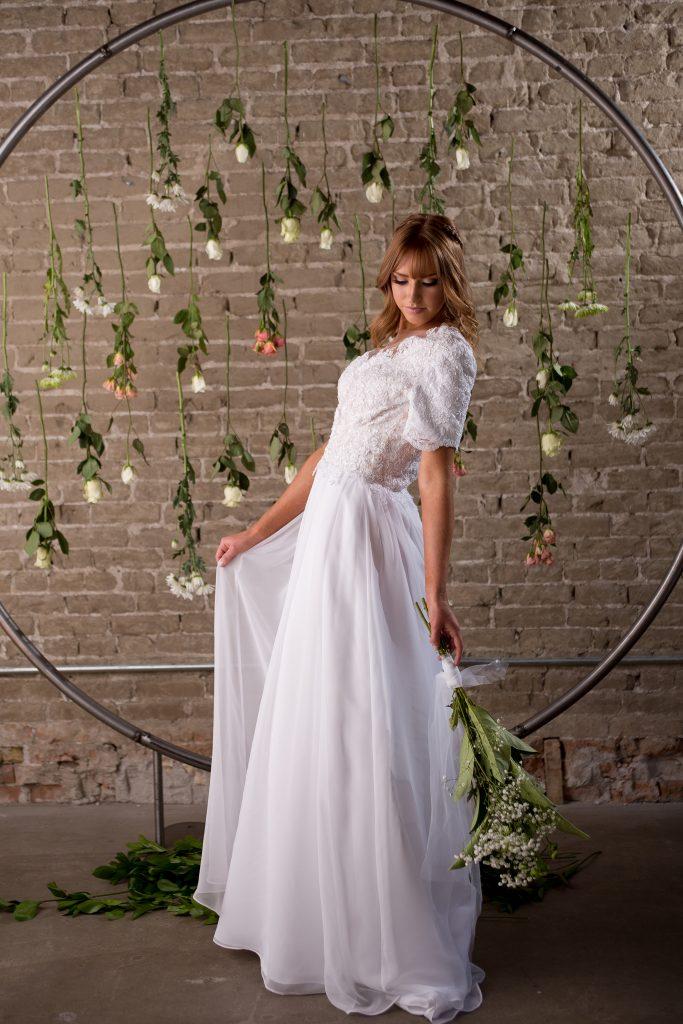 Garment Ready Wedding Dress - Alison - Rachel Elizabeth Designer ...