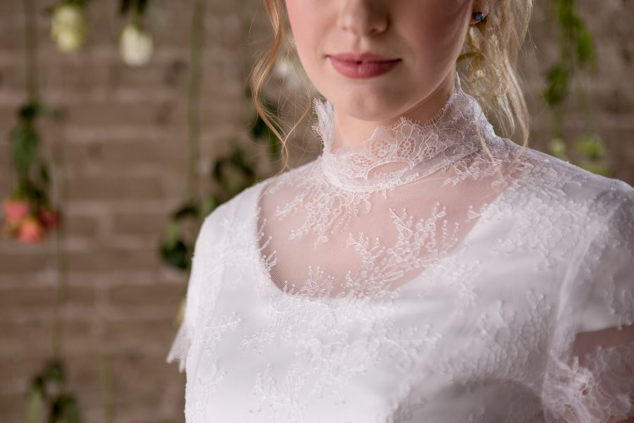 Wedding Dress with Sleeves - Savannah - Rachel Elizabeth Desinger ...