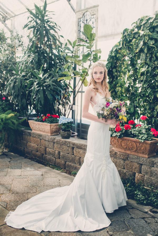 Backless Mermaid - Lacie - Rachel Elizabeth Deisnger Bridal Gowns