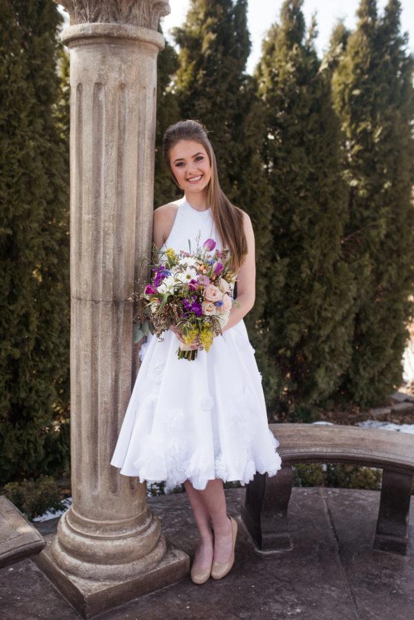 A Creative Wedding Gown- Audrey - Rachel Elizabeth Desinger Bridal Gowns
