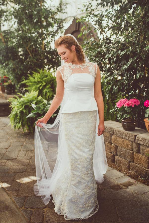 Whimsical Wedding Dress- Sienna - Rachel Elizabeth Desinger Bridal Gowns