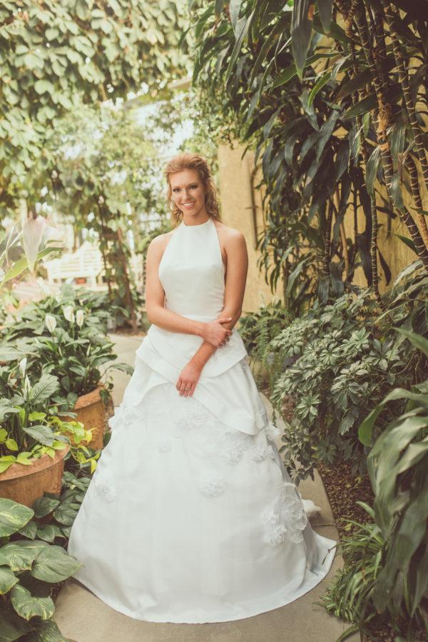 Garden Wedding - Harlie - Rachel Elizabeth Desinger Bridal Gowns