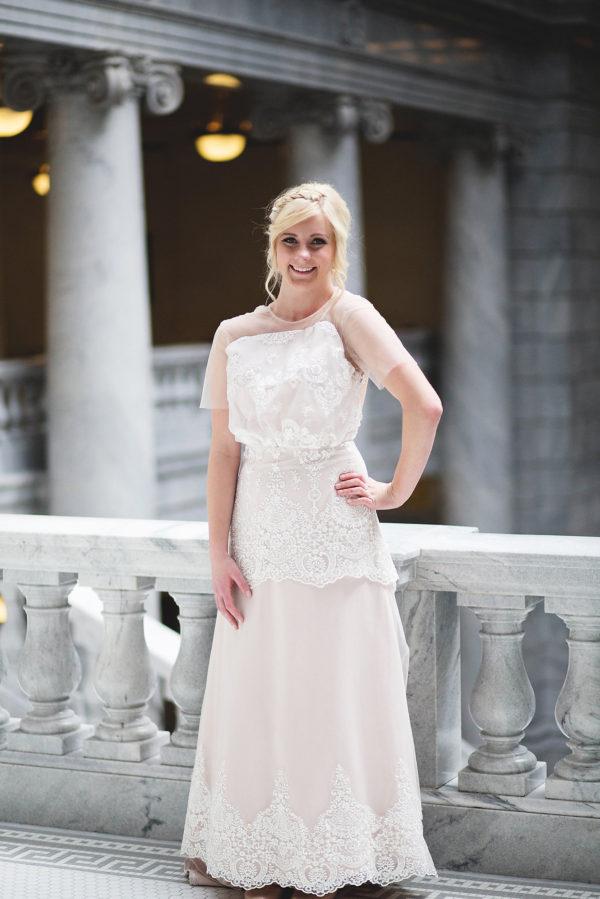 Rose Aline - Gwyneth - Rachel Elizabeth Desinger Bridal Gowns