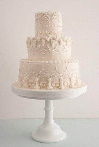 2018 Wedding Cake Inspo - Blog - Rachel Elizabeth Designer Bridal
